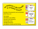 An Inspector Calls bundle - 6 complete powerpoints and accompanying worksheets