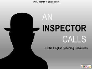 An Inspector Calls teaching resources - Powerpoint, worksheets and plan