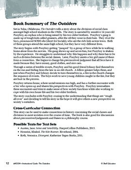 An Instructional Guide for Literature: The Outsiders (eBook)