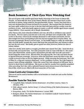 An Instructional Guide for Literature: Their Eyes Were Watching God (eBook)