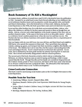 An Instructional Guide for Literature: To Kill a Mockingbird (eBook)