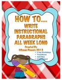 An Instructional Writing Activity Workshop
