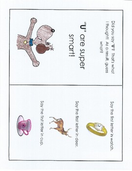An Interactive Book to Help Students Identify Beginning and Ending Consonants