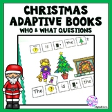 Christmas Adapted Books for Special Education