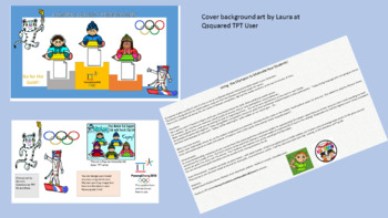 An Interactive Fun Motivating Olympic Bulletin Board! Improve Work Quality!
