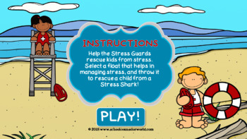 An Interactive Guidance Lesson on Coping with Stress, Grades 2-3