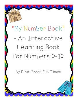 An Interactive Learning Book for Numbers 0-10