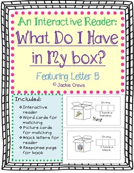 An Interactive Reader: What Do I Have in My box?