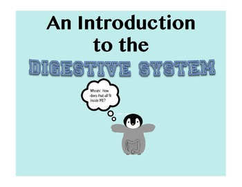 An Interactive SmartBoard Intro to the Digestive System fo
