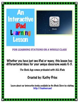 An Interactive iPad Lesson - Clock App