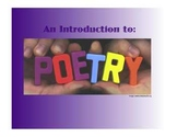 An Intro to Poetry on the SmartBoard:  A Two-Week Unit Featuring 10 Poetry Forms