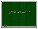 An introduction to synthetic division