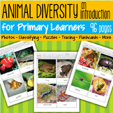 Animal Diversity Introduction for Early Learners - 96 pages.