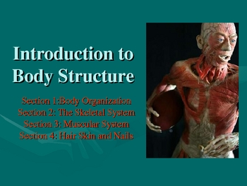 An Introduction to Body Structure and Organization