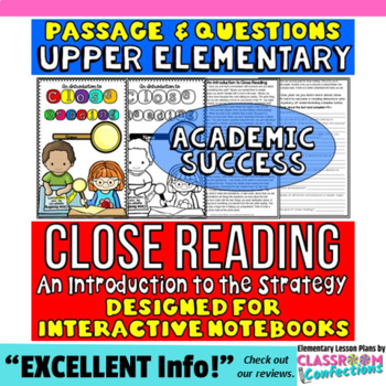 Close Reading Passage Activity: Introducing the Strategy