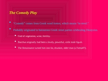 An Introduction to Comedy
