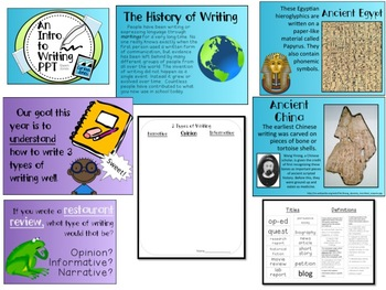 An Introduction to Common Core Writing