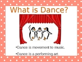 AN INTRODUCTION TO DANCE
