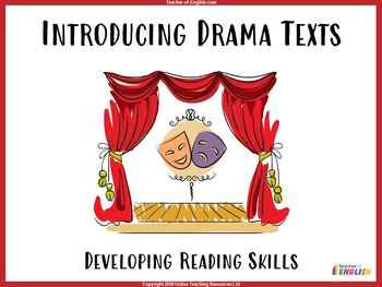 An Introduction to Drama Texts by The Teaching Buddy