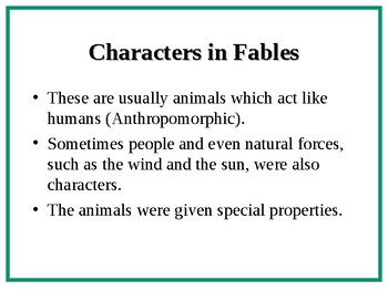 An Introduction to FABLES!