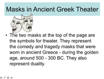 An Introduction to Greek Theater PPT