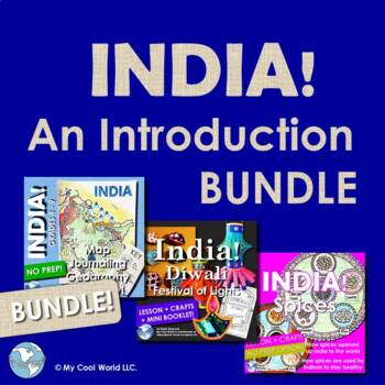 India! An Introduction Bundle - Learn About History, Diwali, and Spices!