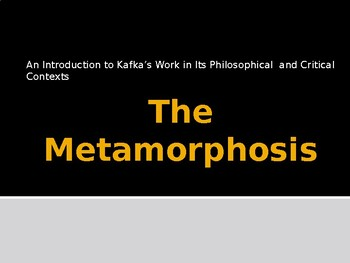 An Introduction to Kafka's Work in Its Philosophical  and Critical Contexts