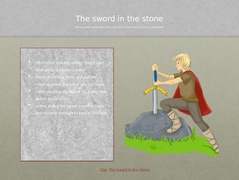 An Introduction to King Arthur Powerpoint