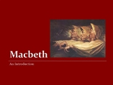 An Introduction to Macbeth by William Shakespeare