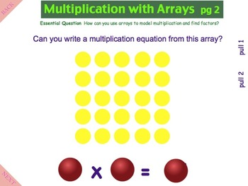 An Introduction to Multiplication - A Common Core Interactive Mimio Lesson!!!