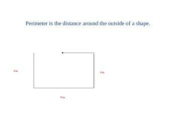 An Introduction to Perimeter and Area of Rectangles