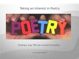 An Introduction to Poetry Using Task Cards