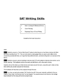 An Introduction to SAT Writing