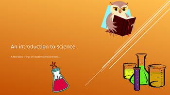 An Introduction to Science