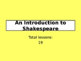 An Introduction to Shakespeare Scheme of Work