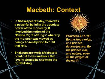 An Introduction to Shakespeare and Macbeth