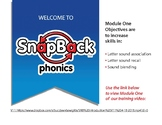 An Introduction and Training Video for SnapBack Phonics St