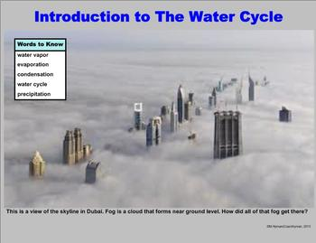 An Introduction to The Water Cycle – A Third Grade PowerPoint Lesson