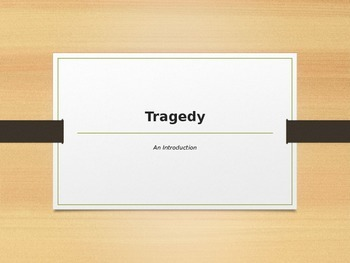 An Introduction to Tragedy