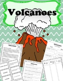 An Introduction to Volcanoes- Vocabulary, Comprehension, C