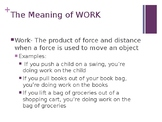 An Introduction to Work