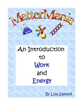 An Introduction to Work and Energy