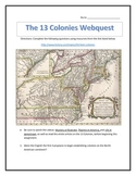 An Introduction to the 13 Colonies- Webquest and Video Ana
