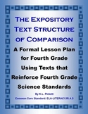 An Introduction to the Expository Text Structure of Comparison