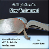 An Introduction to the New Testament:  27 Information Cards