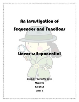 An Investigation of Sequences: Linear vs Exponential