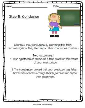 An Investigation of the Scientific Method: NGSS Aligned