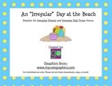 """An """"Irregular"""" Day at the Beach (Irregular Plurals & Irreg"""
