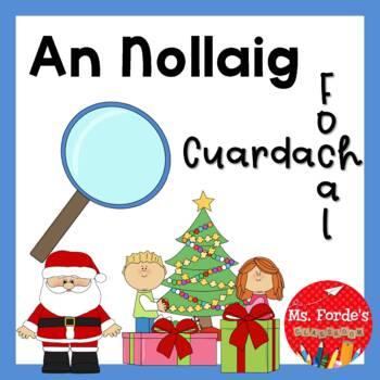 An Nollaig Cuardach Focal (Christmas Wordsearch)