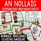 An Nollaig - Irish Display Pack, Worksheets and Games